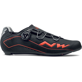 Northwave Flash 2 Carbon sko Herre Orange/Svart